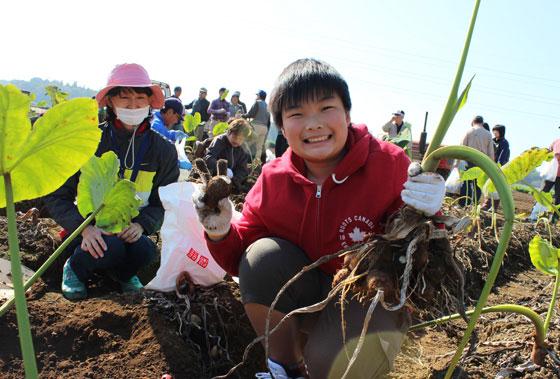 農業収穫体験